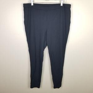 Signature Slimming XL Black Legging Stretchy Pants
